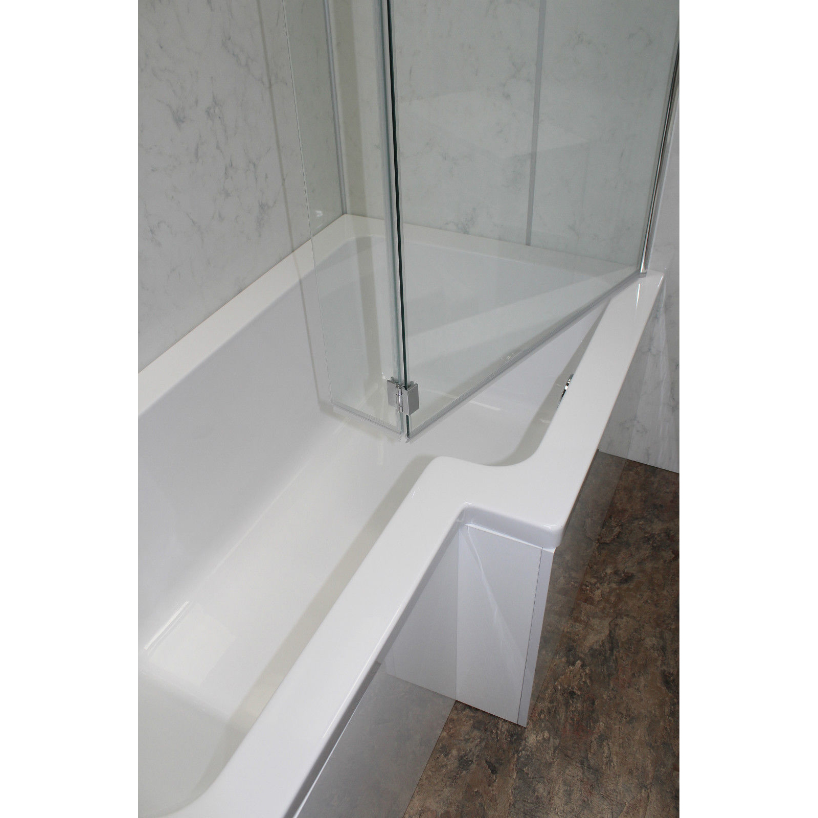 allbits 1500 l shape shower bath right hand 163 299 00 at