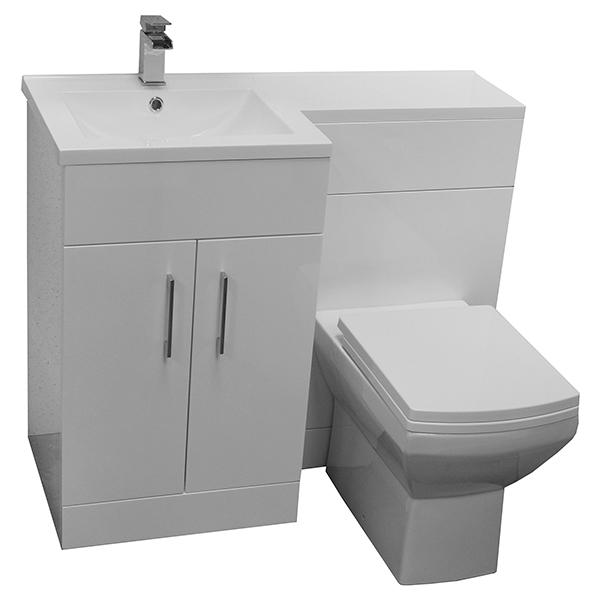 Allbits Monica One Piece Basin Combination 1000mm RH