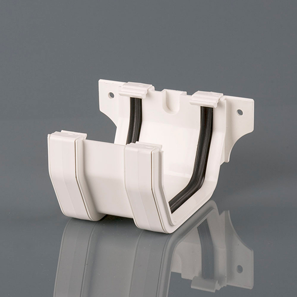Joint/Union Bracket 114mm Squarestyle White