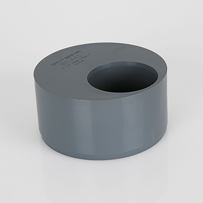 110mm X 50mm - Seal Accepts Push-Fit Waste Grey