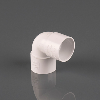 40mm 90dg Solvent Weld Knuckle Bend White. Pack of 5
