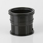 Pvcu To Cast Iron & Salt Glaze Drain Connector Black