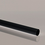 40mm 3m MUVPC Waste Pipe Black. Pack of 10