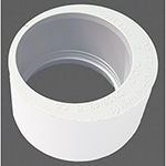 40mm x 32mm Solvent Weld Socket Reducer White