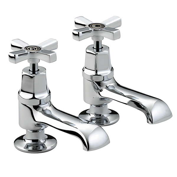 Bristan Art Deco Basin Taps