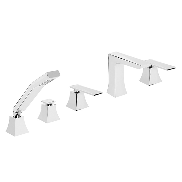 Bristan Ebony 5 Hole Bath Shower Mixer