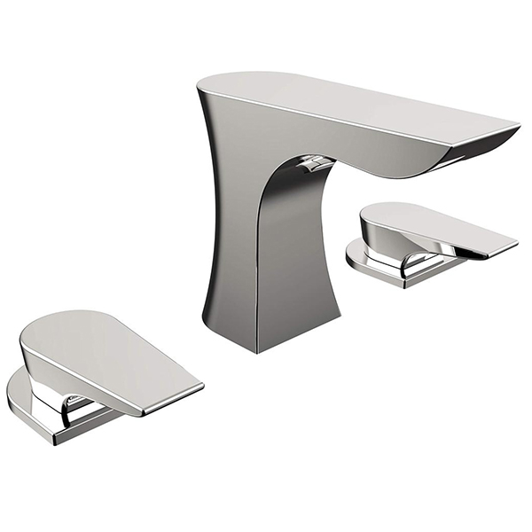 Bristan Hourglass 3 Hole Basin Mixer with Clicker Waste