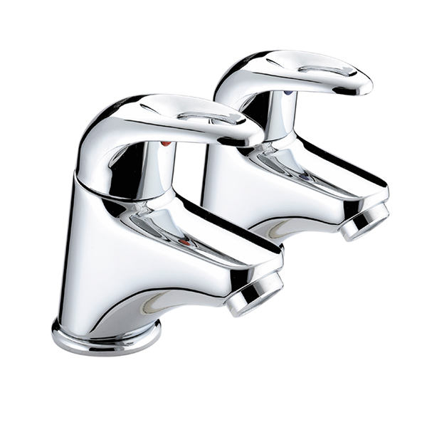Bristan Java Basin Pillar Taps