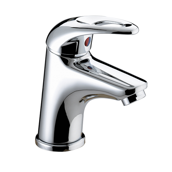 Bristan Java Small Basin Mixer with Clicker Waste
