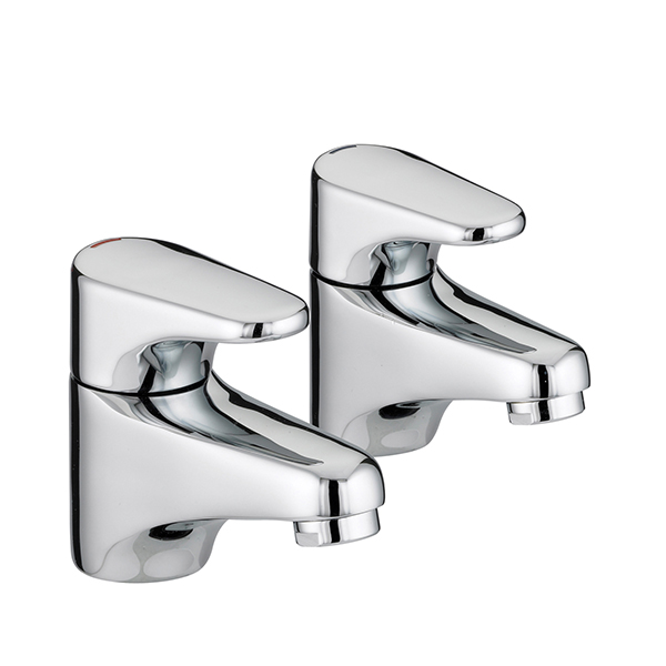 Bristan Jute Basin Taps Chrome Plated