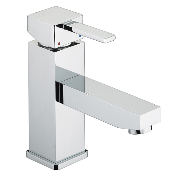 Bristan Quadrato Basin Mixer with Eco-Click & Pop-Up Waste