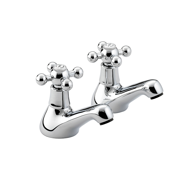 Bristan Regency Bath Taps Chrome Plated