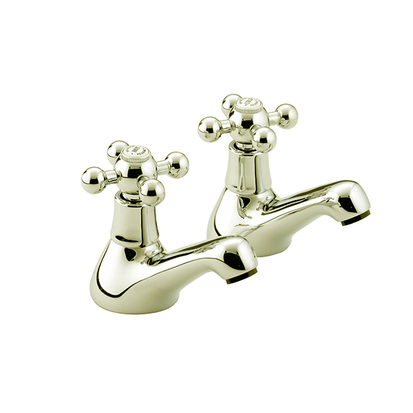Bristan Regency Bath Taps Gold Plated
