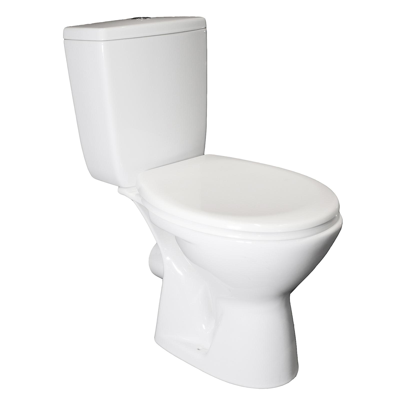 Cersanit Senator Close Coupled Toilet With Soft Close Seat