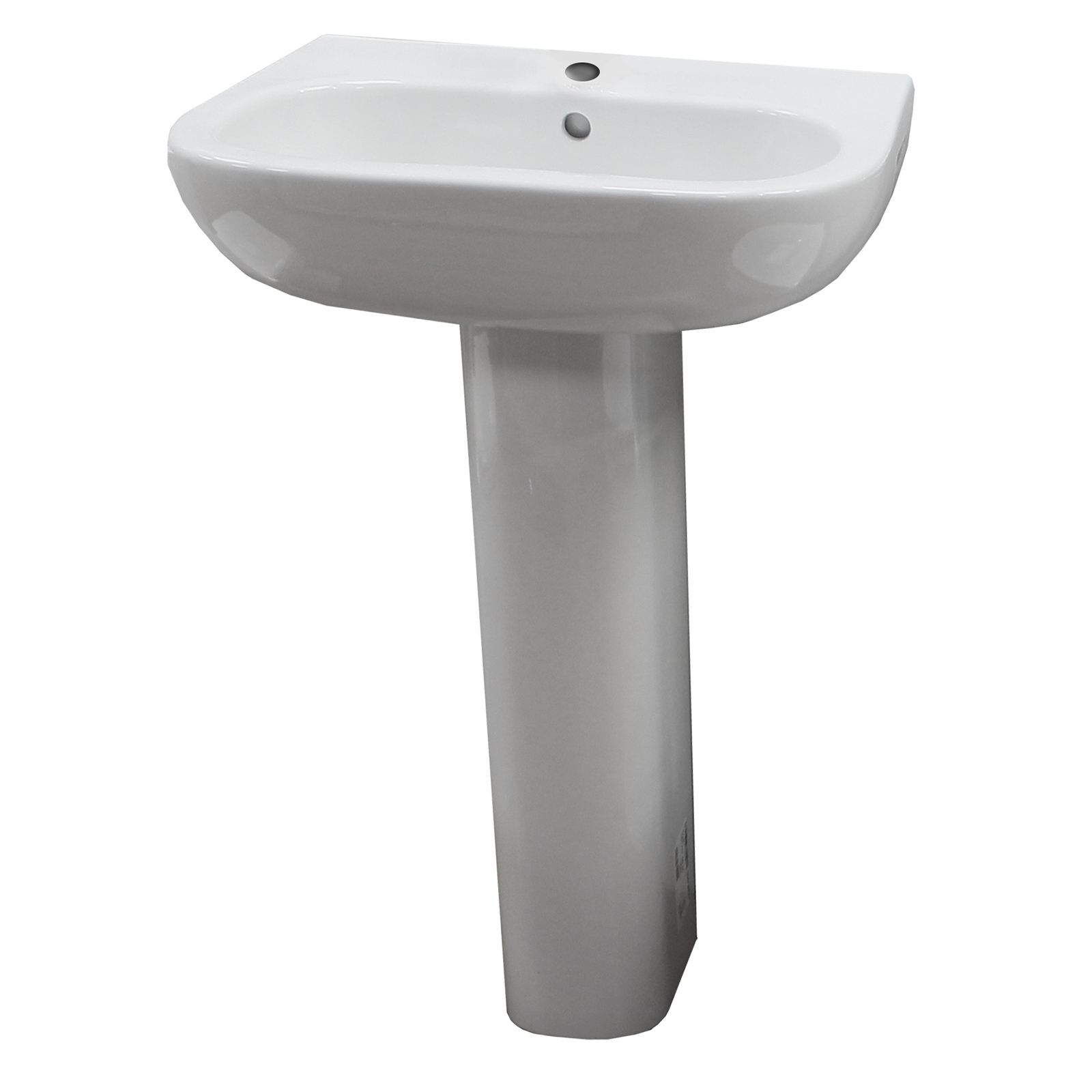 Duravit D Code 4 Piece Set With 1 Tap Hole Basin 163 359 98