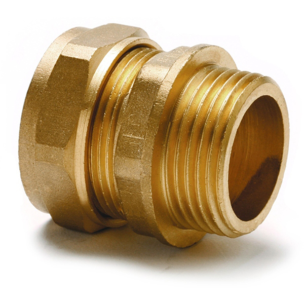 "10mm x 1/2"" Male Coupler"
