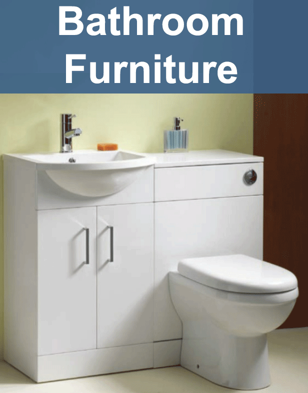 Wide range of Bathroom furniture