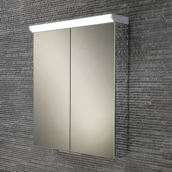 Flare LED Aluminium Cabinet with Mirrored Sides