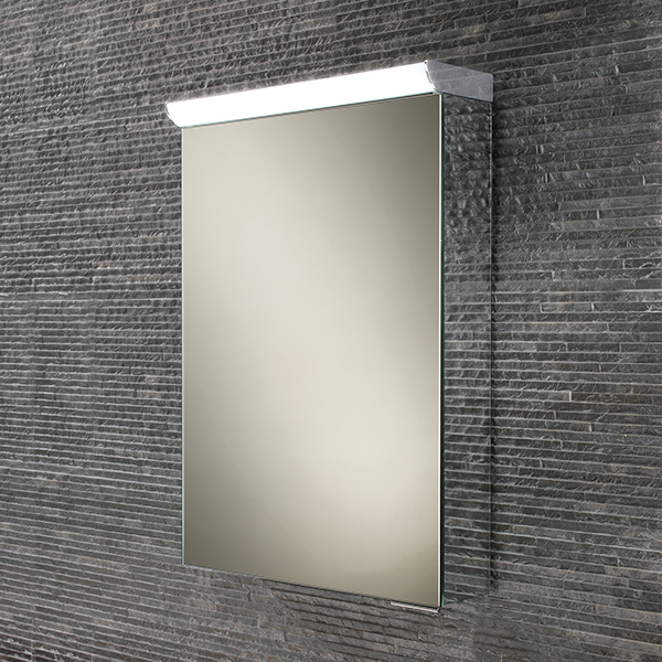 Flux LED Aluminium Cabinet with Mirrored Sides
