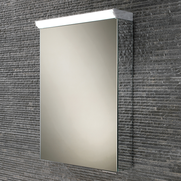 Spectrum LED Aluminium Cabinet with Mirrored Sides