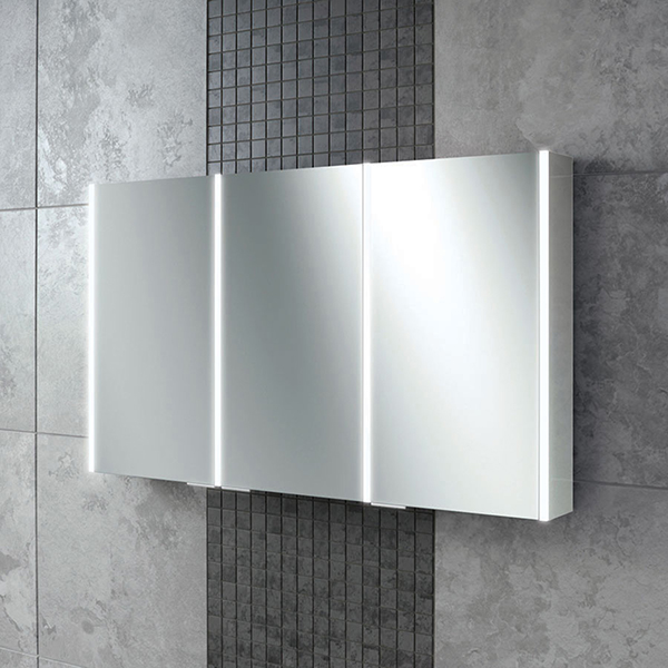 Xenon 120 LED Aluminium Cabinet with Mirrored Sides