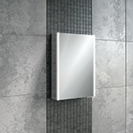 Xenon 50 LED Aluminium Cabinet with Mirrored Sides