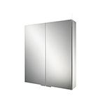 Apex 60 LED Aluminium Cabinet with Mirrored Sides