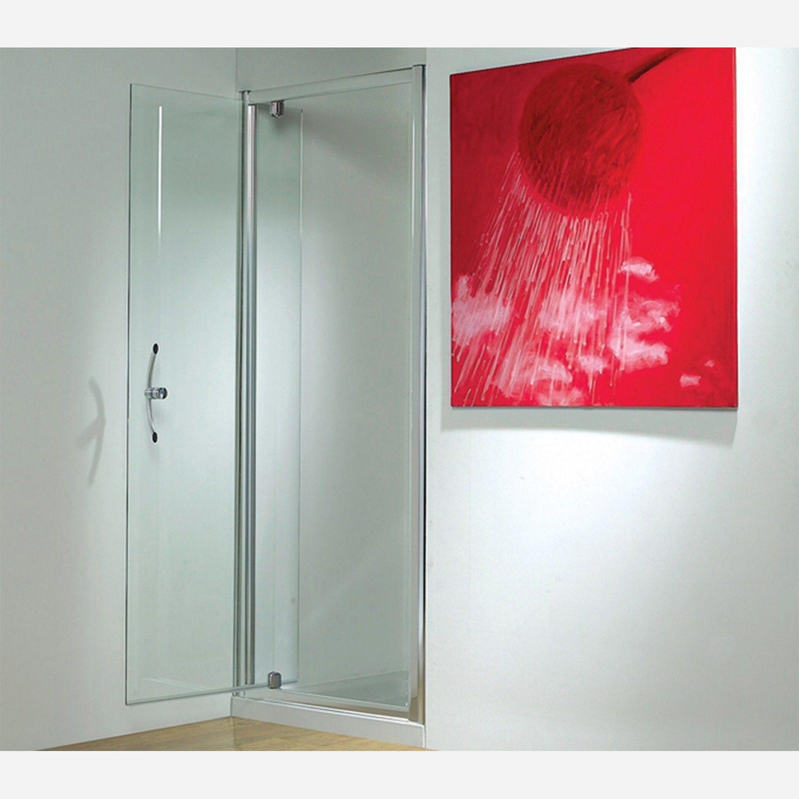 Frameless Sliding Shower Door 1000mm Take Standard Shower