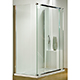 Kudos Infinite 1500mm Straight Sliding Door