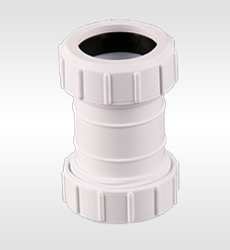 Compression waste plumbing fittings