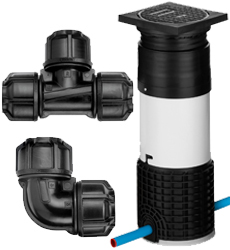 MDPE Metric Imperial Water Fittings
