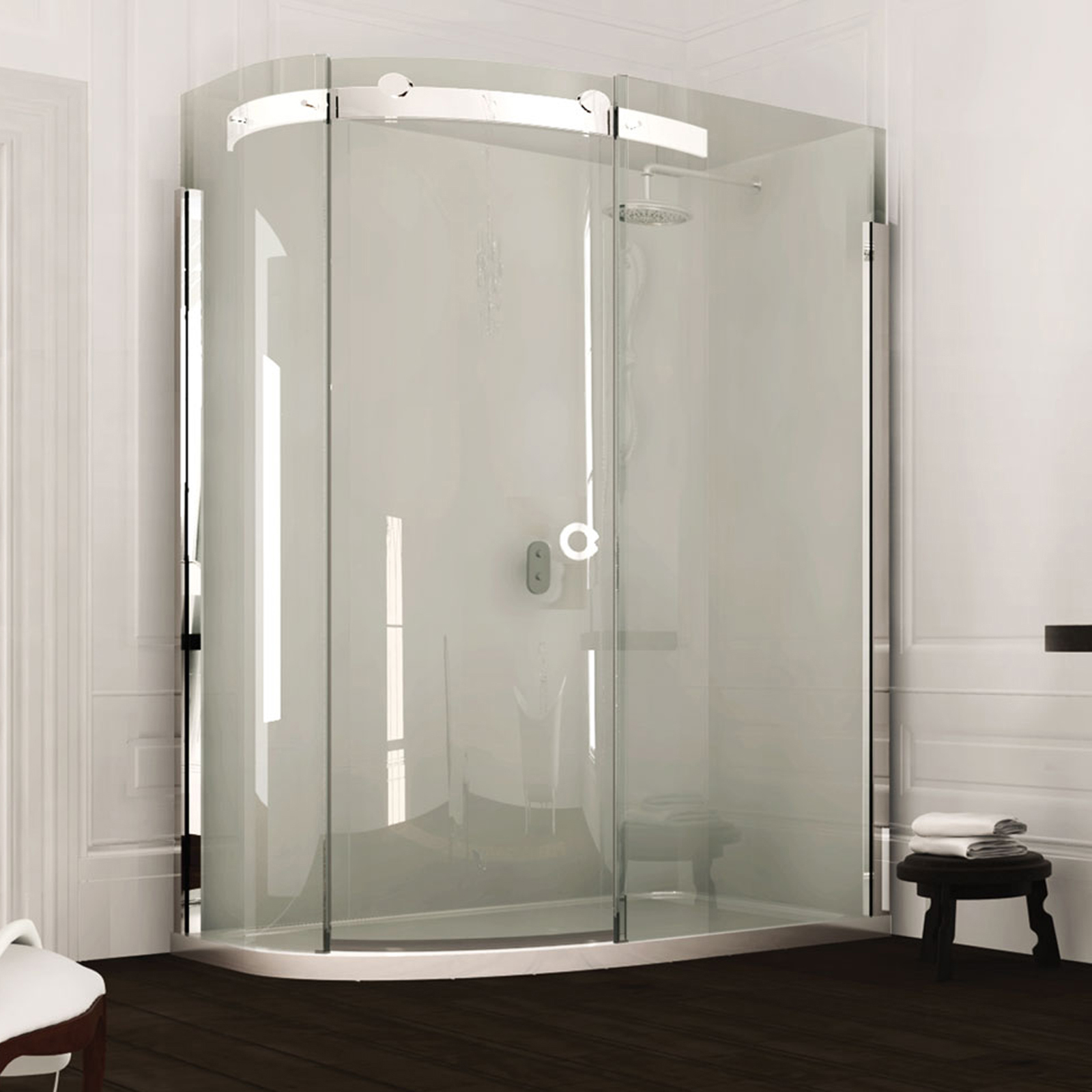 Merlyn Series 10 1 Door Offset Quadrant 1200 X 900mm Lh 132304 At