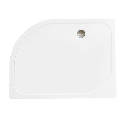 Merlyn MStone Right Hand Quadrant 1200 x 800 Shower Tray