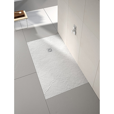 Merlyn Truestone White Rectangular 1500 x 800 Shower Tray