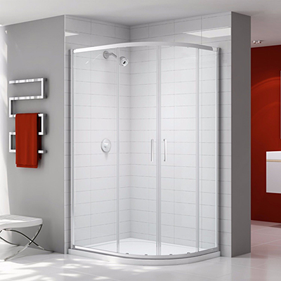 Merlyn Ionic Express 2 Door Quadrant 900 x 760mm