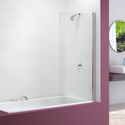 Merlyn Single Square Bath Screen
