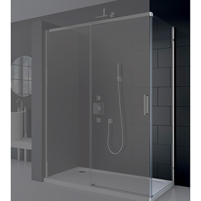 Merlyn Series 8 Frameless Side Panel 900mm