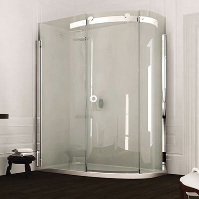 Merlyn Series 10 1 Door Offset Quadrant 1000 x 800mm RH