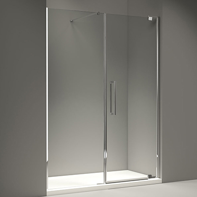 Merlyn Series 10 Pivot Door & Inline Panel 1500mm