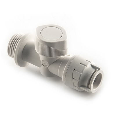 PolyFit 15mm x 3/4inch Appliance Valve