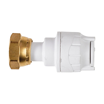 PolyFit 15mm x 1/2inch Straight Tap Connector