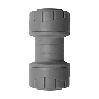PolyPlumb 22mm Straight Coupler