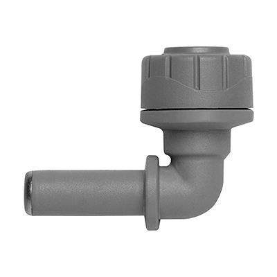 PolyPlumb 22mm Spigot Elbow. Pack of 5