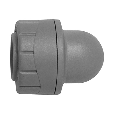 PolyPlumb 22mm Socket Blank End