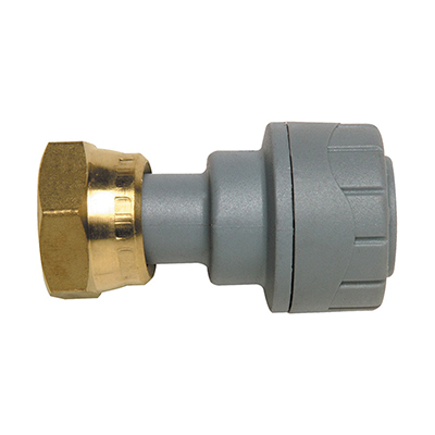 PolyPlumb 15mm x 1/2inch Straight Tap Connector