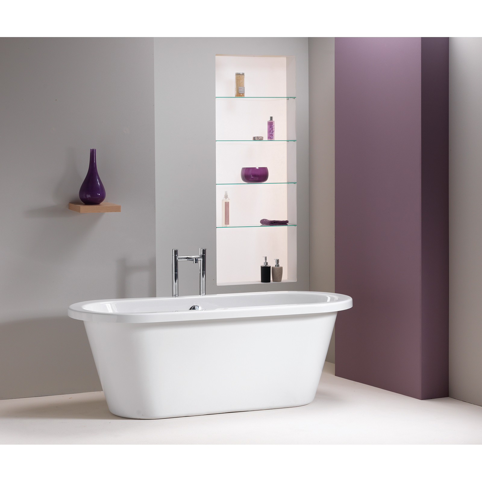 QX Stanford 1700 Freestanding Skirted Bath £556.80 at Allbits ...