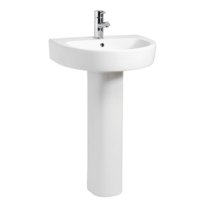 Oregon 560 1 Tap Hole Basin and Pedestal