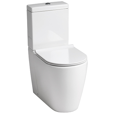 Roma Rimless Comfort Close Coupled Pan and Soft Close Seat
