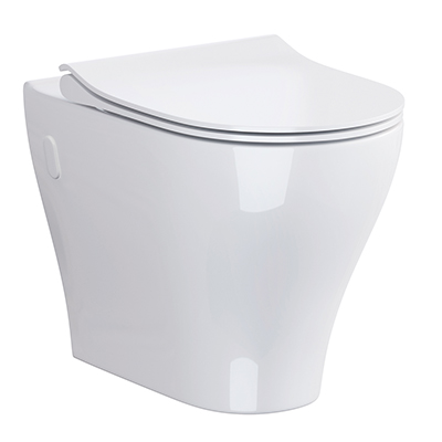 Urban Harmony Back-to-Wall WC Pan and Soft Close Seat