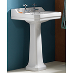 Grosvenor 554 2 Tap Hole Basin and Pedestal